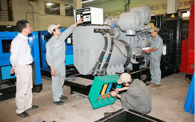 Dịch vụ sửa chữa máy phát điện tại Huê